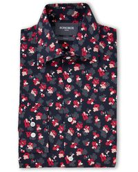 Bonobos Pearl Flower Slim Fit Dress Shirt - Multicolor