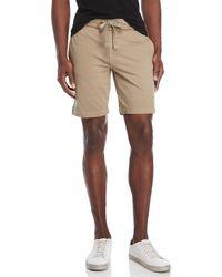 Tailor Vintage - Flat Front Drawstring Shorts - Lyst