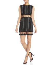 Isla - Sleeveless O-ring Far Out Mini Dress - Lyst
