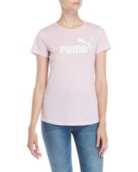 PUMA - Essentials Logo Tee - Lyst