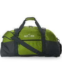 Olympia - Green Deluxe Multi-Purpose Sports Duffel - Lyst