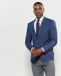 Calvin Klein - Blue Stretch Slim Fit Sport Coat - Lyst