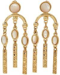 House of Harlow 1960 - Gold-tone Multi Drop Earrings - Lyst