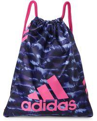 adidas - Purple & Pink Burst Sack Pack - Lyst