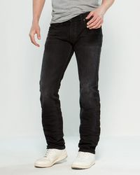 DIESEL Safado Stretch Regular Slim Jeans - Black