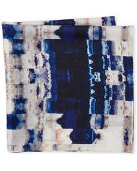 Laundry by Shelli Segal | Geo Print Silk Scarf | Lyst
