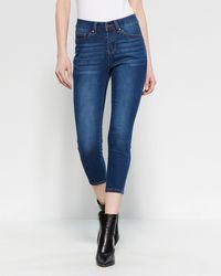Workshop Petite Five-pocket Skinny Jeans - Blue