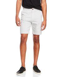 Benson - Woven Printed Shorts - Lyst