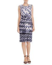 NIC+ZOE - Lotus Printed Twist Dress - Lyst