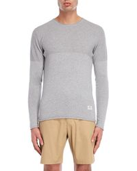 Penfield Brentwood Long Sleeve Sweater - Gray