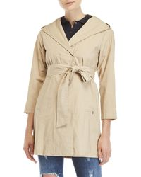Ottod'Ame - Belted Trench Coat - Lyst