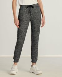 Marc New York Novelty French Terry Sweatpants - Black