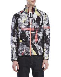 Dirk Bikkembergs - Printed Puffer Jacket - Lyst
