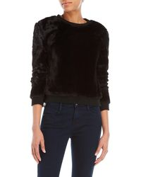 Love Tree - Cozy Faux Fur Pullover - Lyst