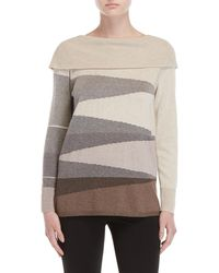 NIC+ZOE - Petite Apres Ski Sweater - Lyst