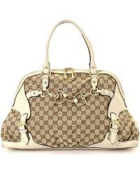 Gucci - Gg Canvas Shoulder Bag - Vintage - Lyst