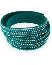 Swarovski - Emerald 2-In-1 Slake Bracelet - Lyst