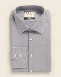 Thomas Pink Classic Fit Hobson Houndstooth Dress Shirt - Multicolor
