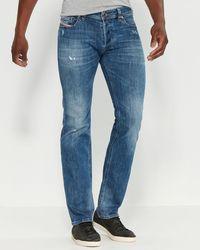 DIESEL Safado-r Regular Slim Straight Jeans - Blue