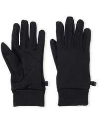 Spyder Touchscreen Stretch Fleece Gloves - Black