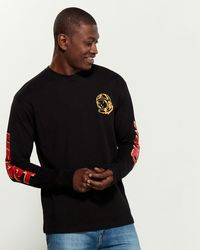 BBCICECREAM Rider Long Sleeve Sweatshirt - Black