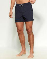 Ermenegildo Zegna Boxer Swim Shorts - Blue