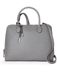 CXL by Christian Lacroix - Clemence Embossed Dome Satchel - Lyst