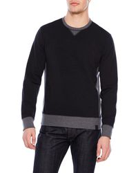 Victorinox - Color Block Sweatshirt - Lyst