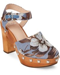 Paul & Joe - Andrea High Heel Clogs - Lyst