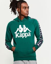 Kappa Authentic Hurtado Pullover Hoodie - Green