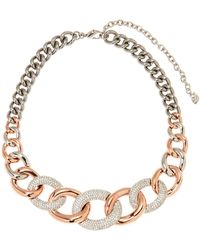 Swarovski - Bound Large Necklace - Lyst