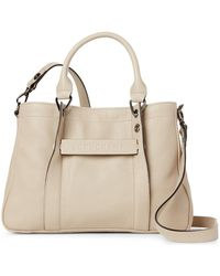 Longchamp - Clay 3d Small Leather Tote - Lyst
