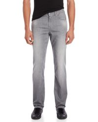 7 For All Mankind - Grey Weightless Denim Slimmy Jeans - Lyst