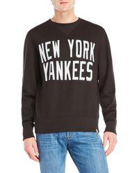 47 Brand   New York Yankees Crew Neck Sweater   Lyst