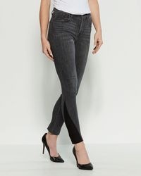 Levi's 721 High-rise Skinny Jeans - Gray