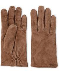 Hestra - Helen Wool-lined Suede Gloves - Lyst