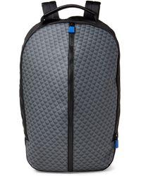 58ad9a7ab0 Emporio Armani - Black   Grey Logo Laptop Backpack - Lyst