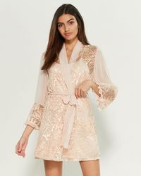 Rya Collection From The Heart Cover-up Robe - Natural