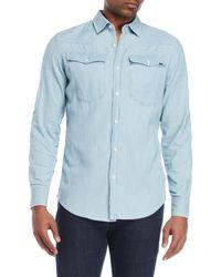 G-Star RAW - Chambray Western Shirt - Lyst