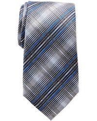 Calvin Klein - Stilo Plaid Silk Tie - Lyst