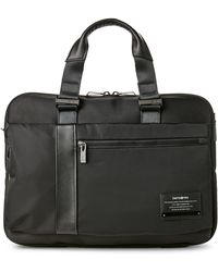 Samsonite - Black Open Road Laptop Briefcase - Lyst