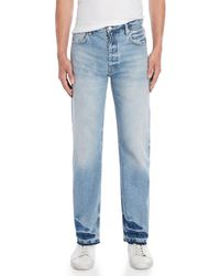 Sandro - Vintage-inspired Light Wash Jeans - Lyst