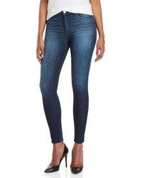 Hudson Jeans - Blair High-waisted Super Skinny Jeans - Lyst