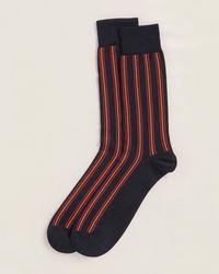 Thomas Pink Alrik Stripe Socks - Multicolor