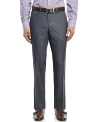 Kenneth Cole Reaction - Flat Front Pants - Lyst