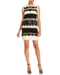 Lanvin - Textured Lace Dress - Lyst