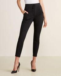 A.L.C. Kerry Lace-up Pants - Black