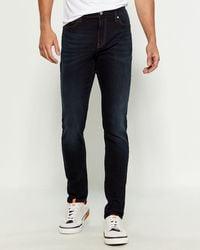 Calvin Klein Andreas Skinny Leg Jeans - Blue