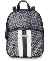 Nautica Lakeside Monogram Mini Backpack - Blue
