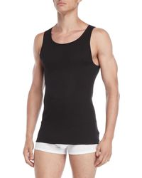 Calvin Klein - 3-pack Classic Fit Ribbed Tanks - Lyst